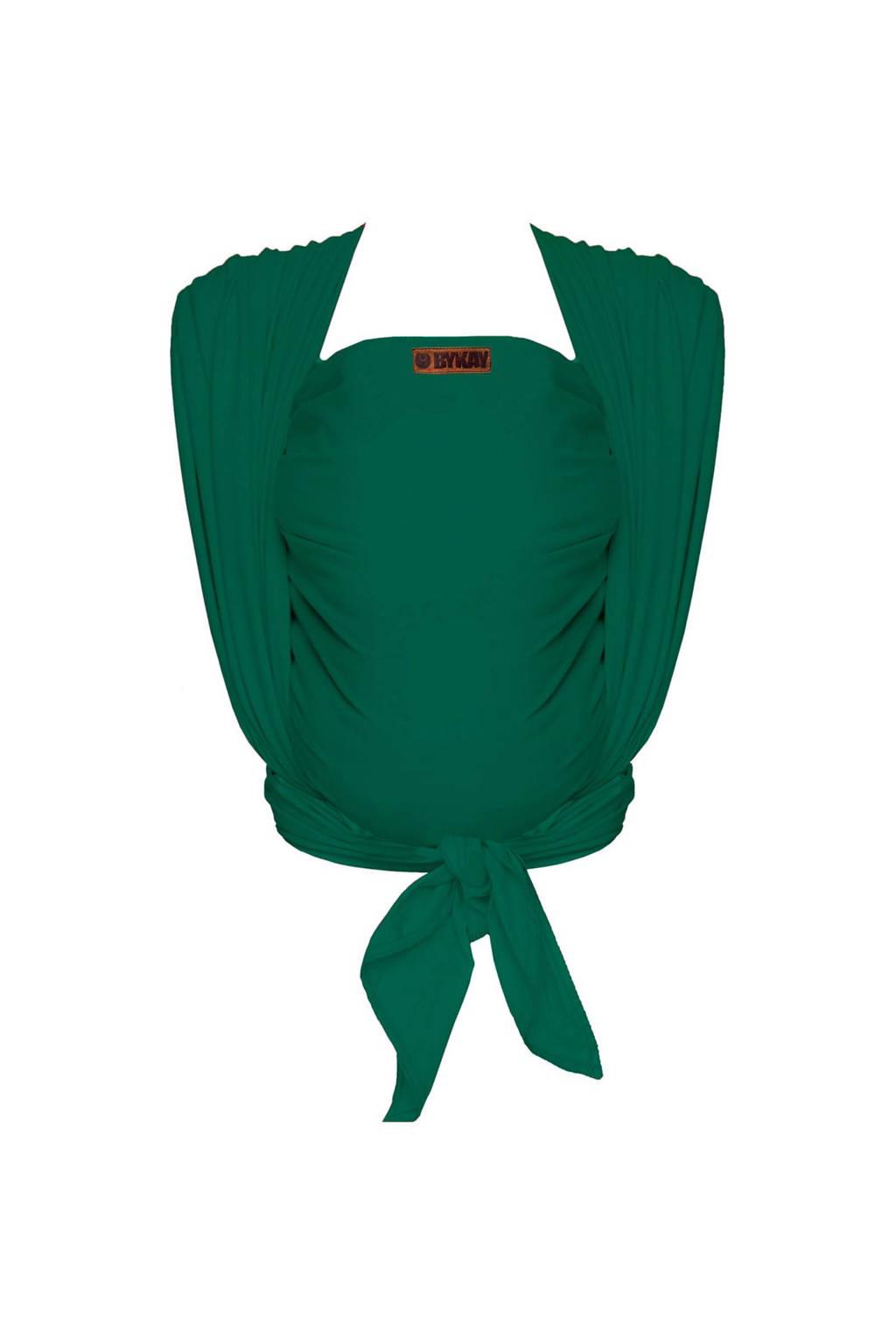 ByKay draagdoek Woven Wrap Deluxe 60116 groen, forest green