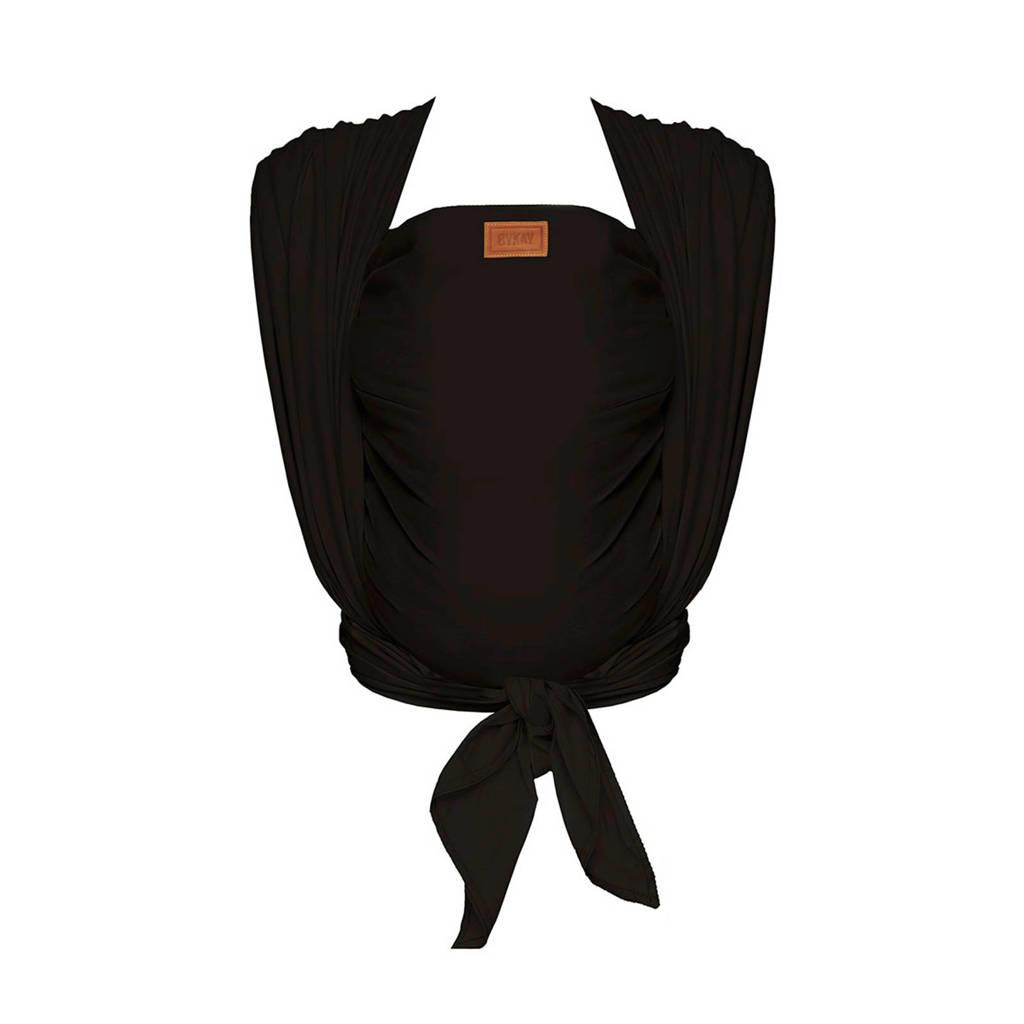 ByKay Woven Wrap Deluxe draagdoek maat 6 black, Black