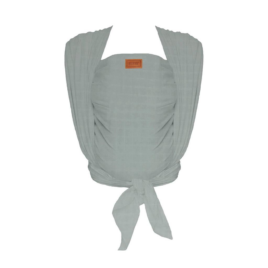 ByKay draagdoek Woven Wrap Deluxe 60196 mintgroen, Minty grey
