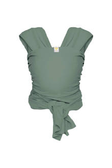 Stretchy wrap deluxe draagdoek maat L minty grey