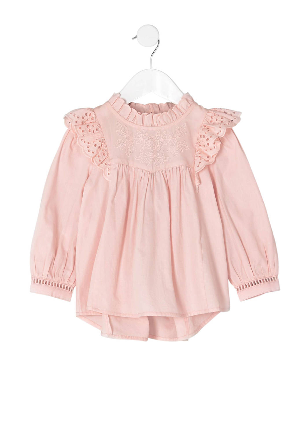 River Island top met ruches, Roze