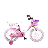 Volare Rose 16 inch kinderfiets, 16 inch / 104 - 110