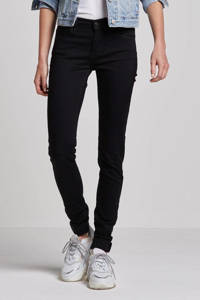 Levi's 710 Innovation super skinny fit jeans, Zwart