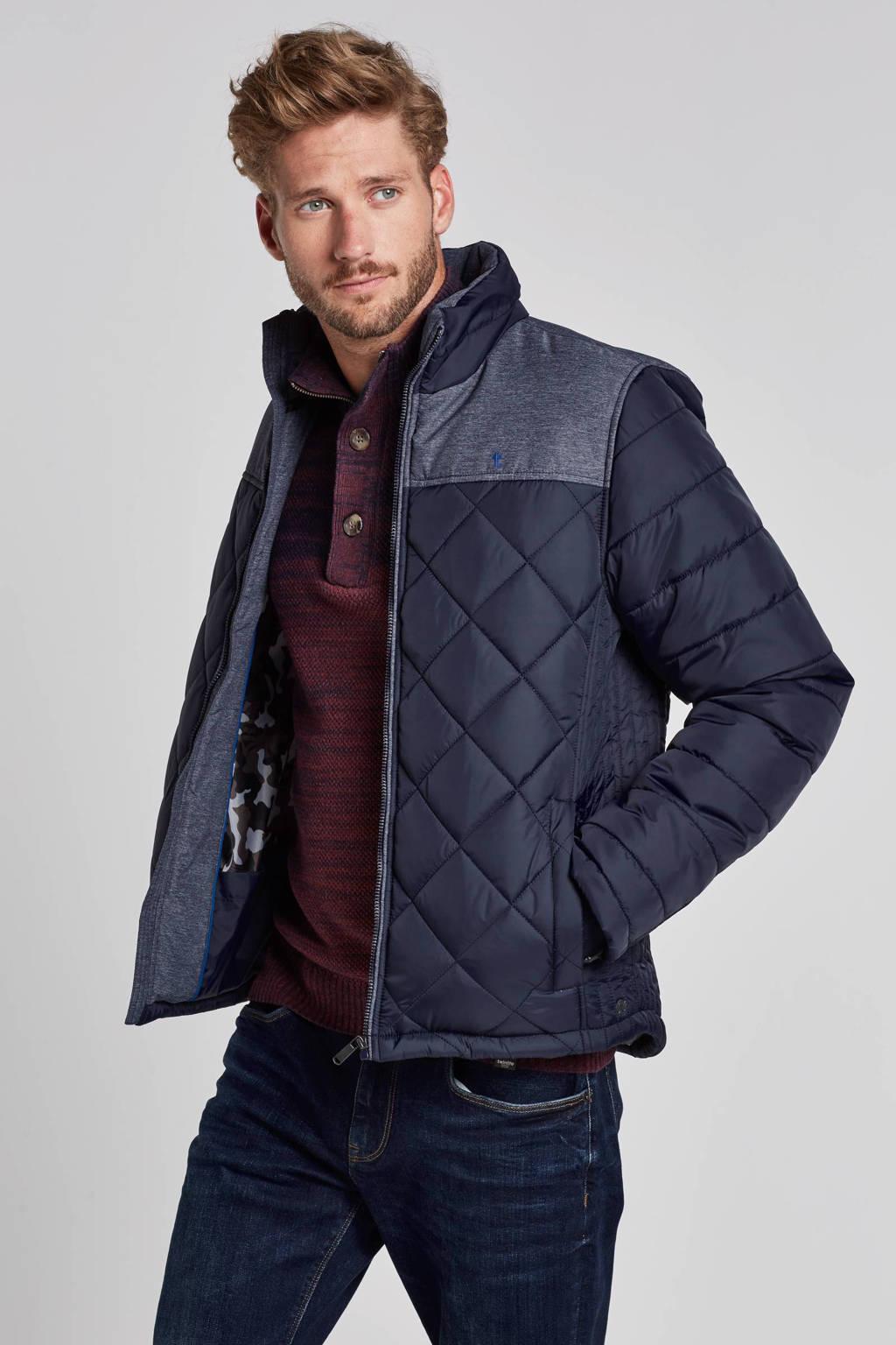Twinlife jas, Blauw