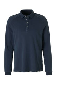 regular fit polo donkerbblauw