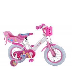 Princess 12 inch kinderfiets 12 inch Roze kinderfiets