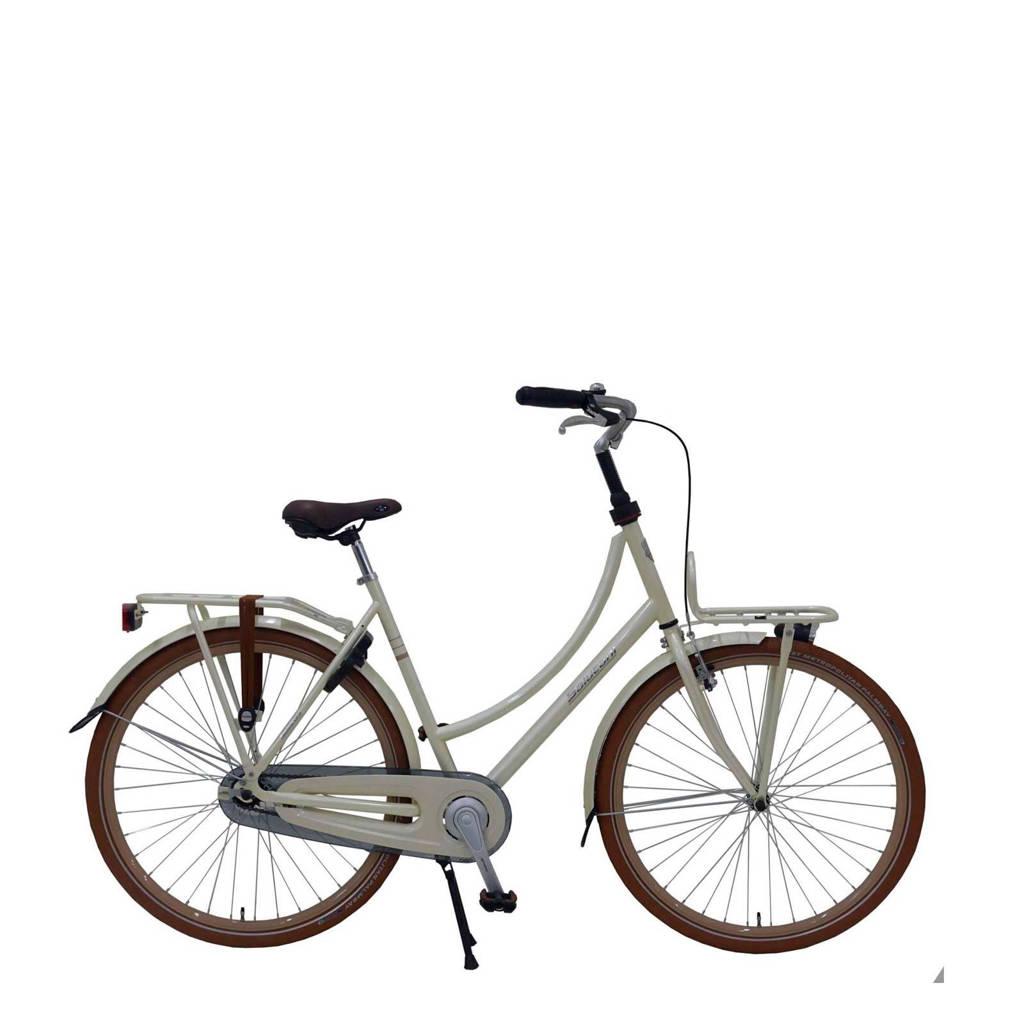 Salutoni Excellent 28 inch fiets, Beige, Geen