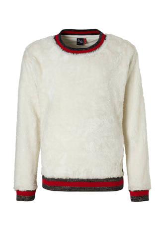 fluffy sweater ecru