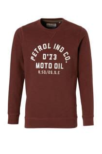 Petrol Industries sweater aubergine (jongens)