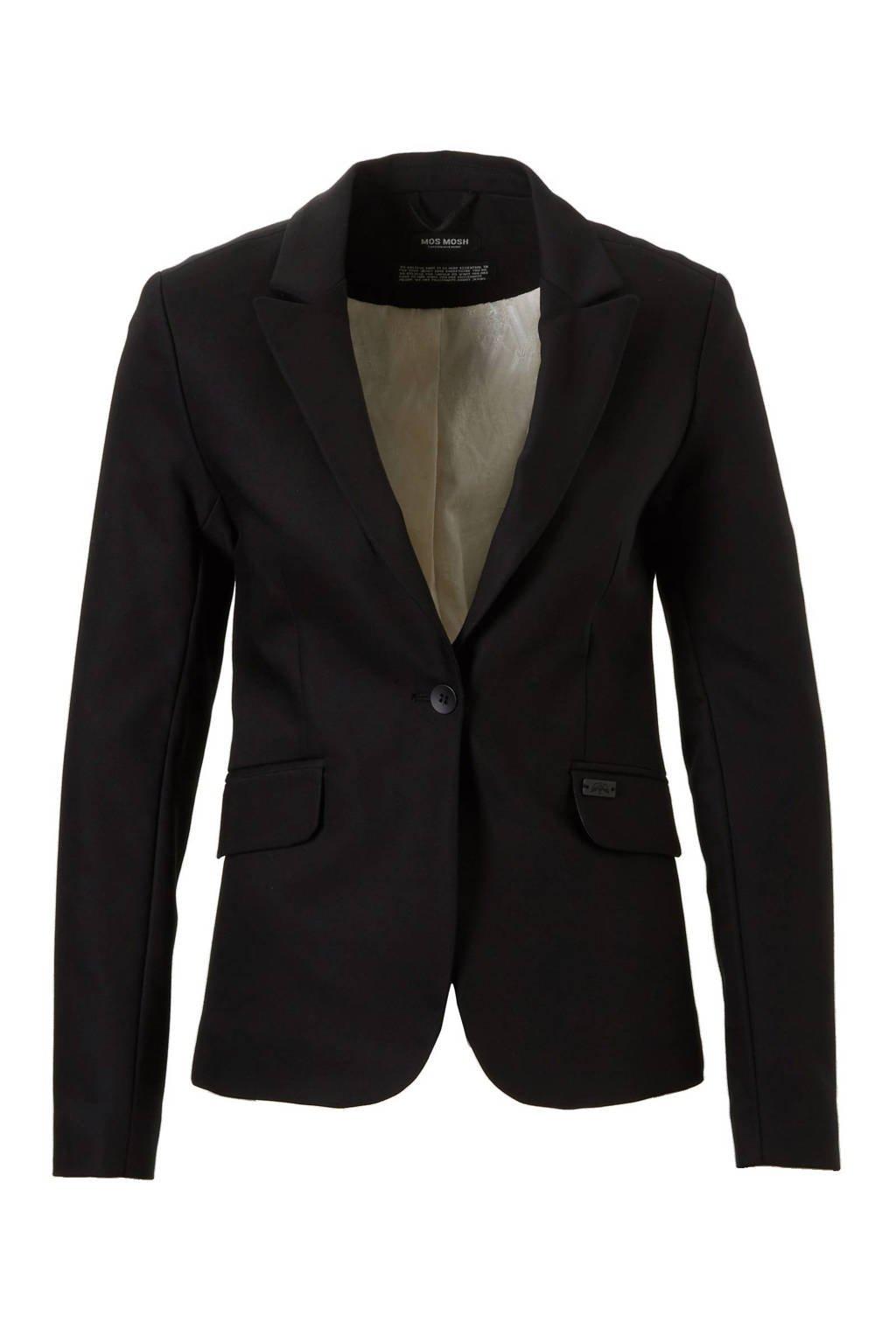 Mos Mosh Blake Night blazer, Zwart