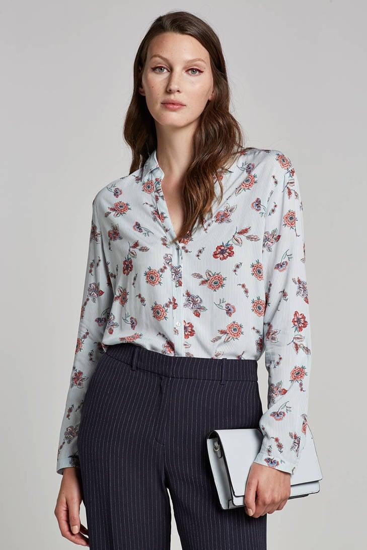 met Women strepen en blouse ESPRIT bloemenprint Casual w6qf0nAZ