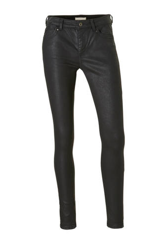 Women Casual coated skinny fit broek