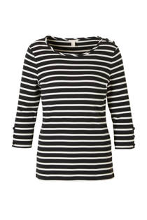 ESPRIT Women Casual gestreepte top (dames)