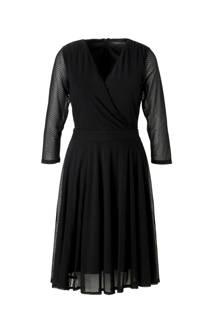 ESPRIT Women Collection gestipte mesh jurk