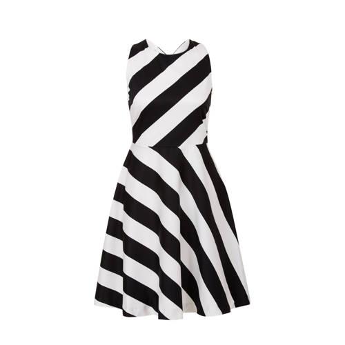 A-lijn jurk met strepen