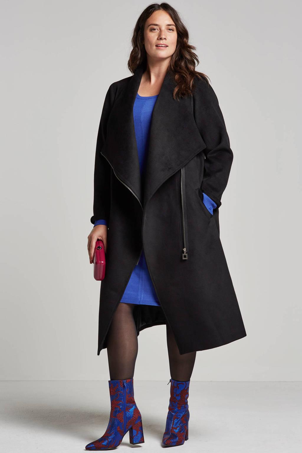 Yesta coat, Zwart