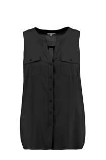MS Mode blouse zwart (dames)