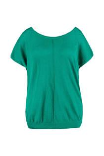 MS Mode trui met glitters groen (dames)