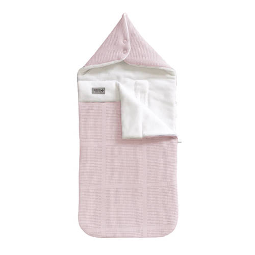 Bamboom Igloo Mini New Vintage Voetenzak Pink-White