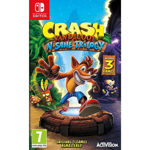 Activision Crash Bandicoot N.Sane Trilogy Nintendo Switch (88199EN)