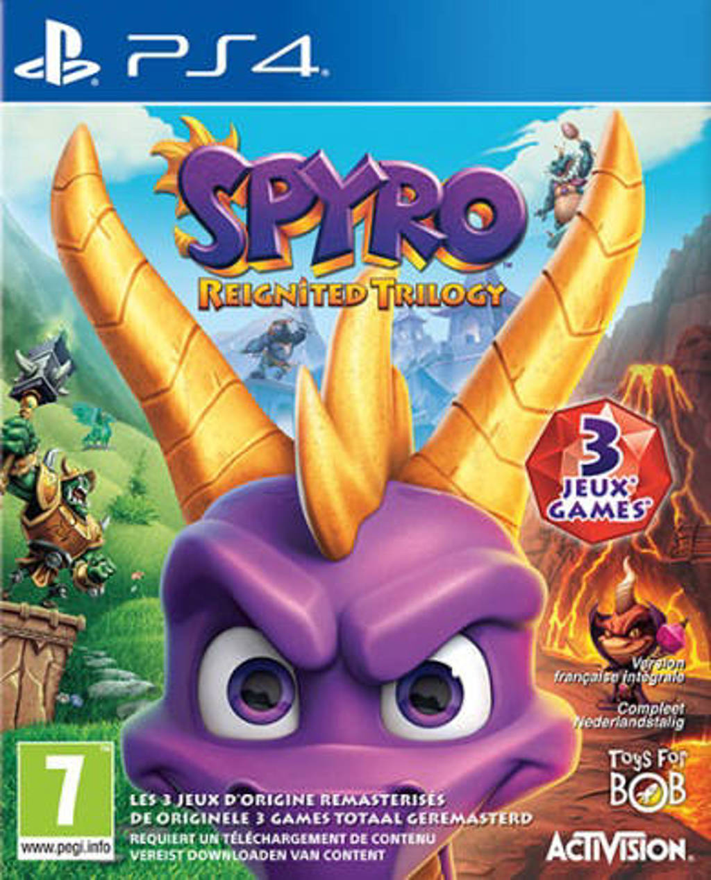Spyro – Trilogy reignited  (PlayStation 4)