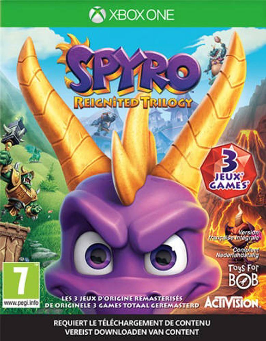 Spyro – Trilogy reignited  (Xbox One), Microsoft X-Box One