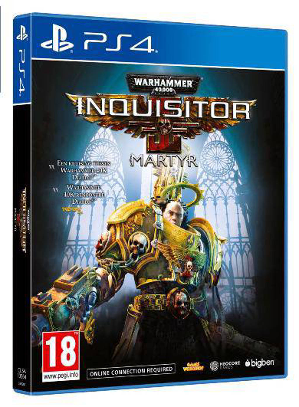 Warhammer 40K - Inquisitor martyr (PlayStation 4)