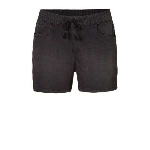 slim fit jeans short zwart