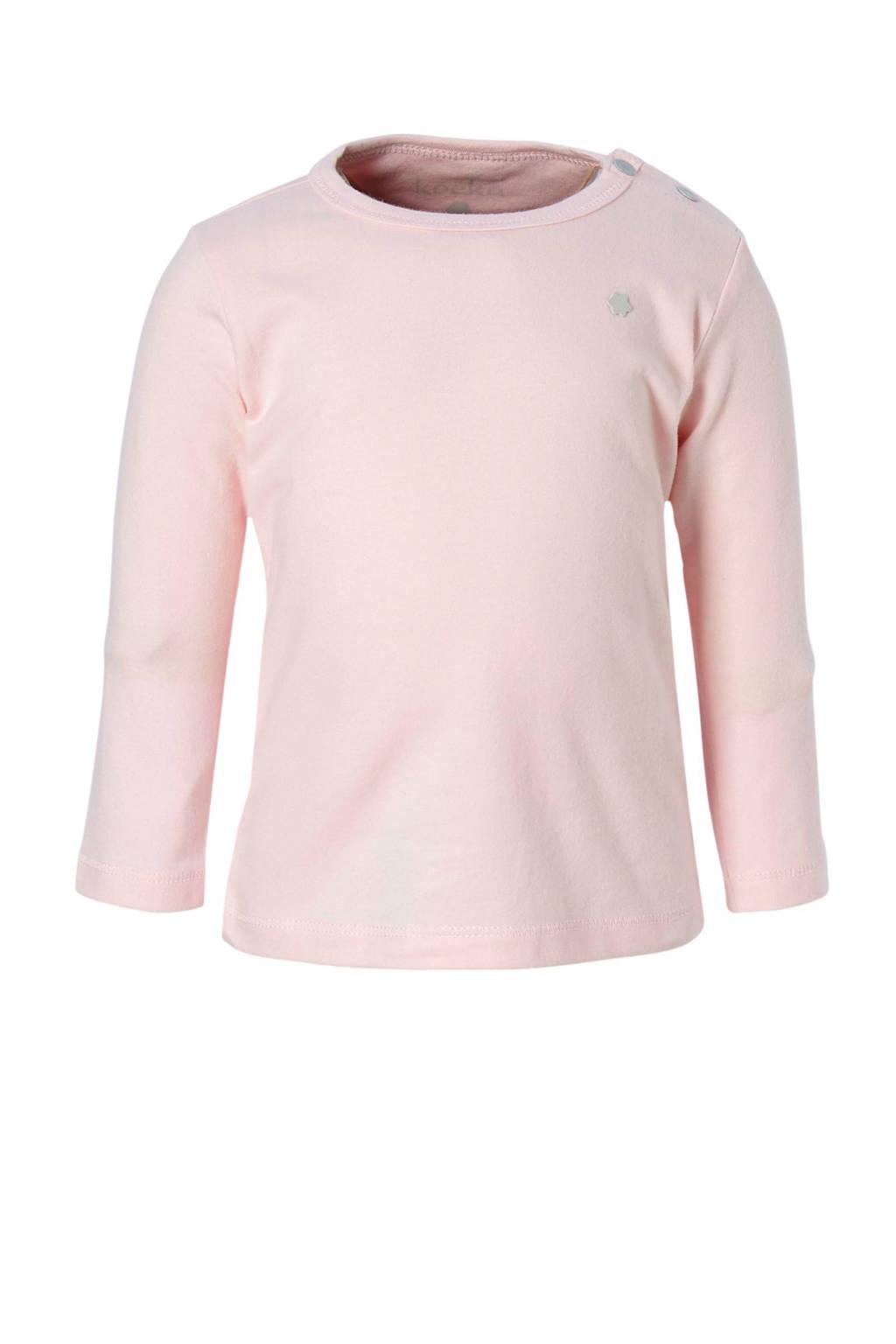 Koeka newborn longsleeve Rowan roze, Lichtroze