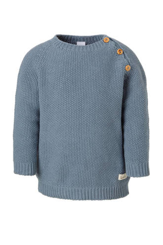 newborn trui Barley grijsblauw
