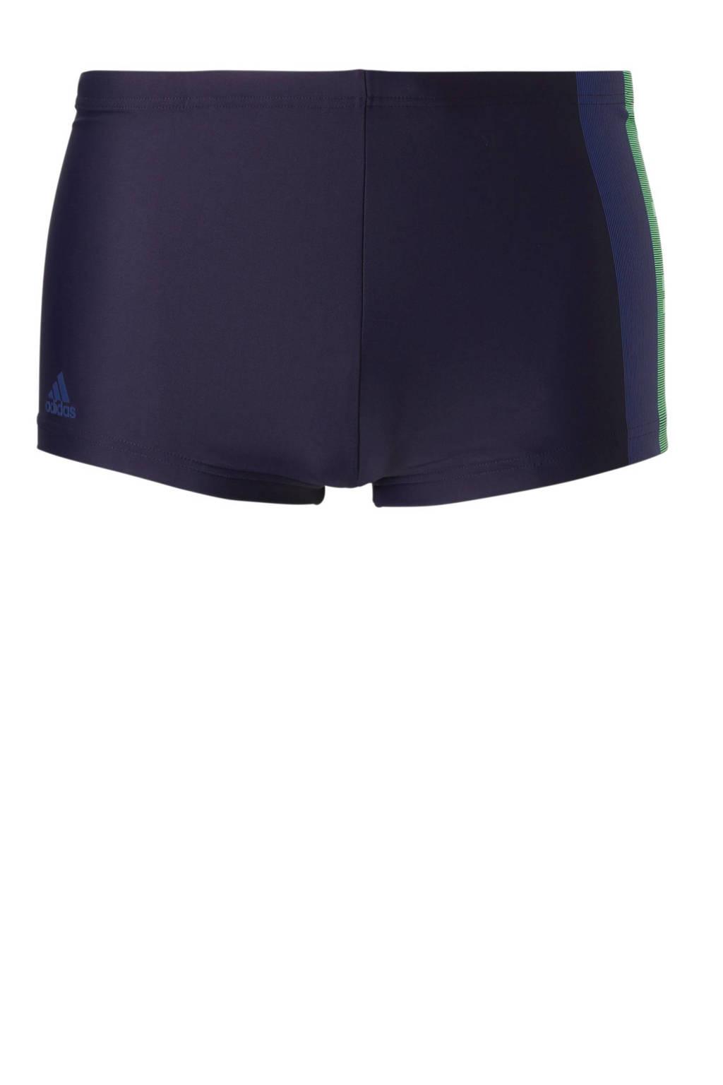 adidas performance infinitex zwemboxer paars/blauw, Paars/blauw/groen