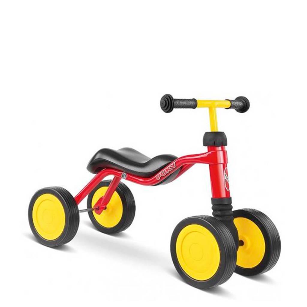 Puky Wutsch loopfiets, Rood/geel