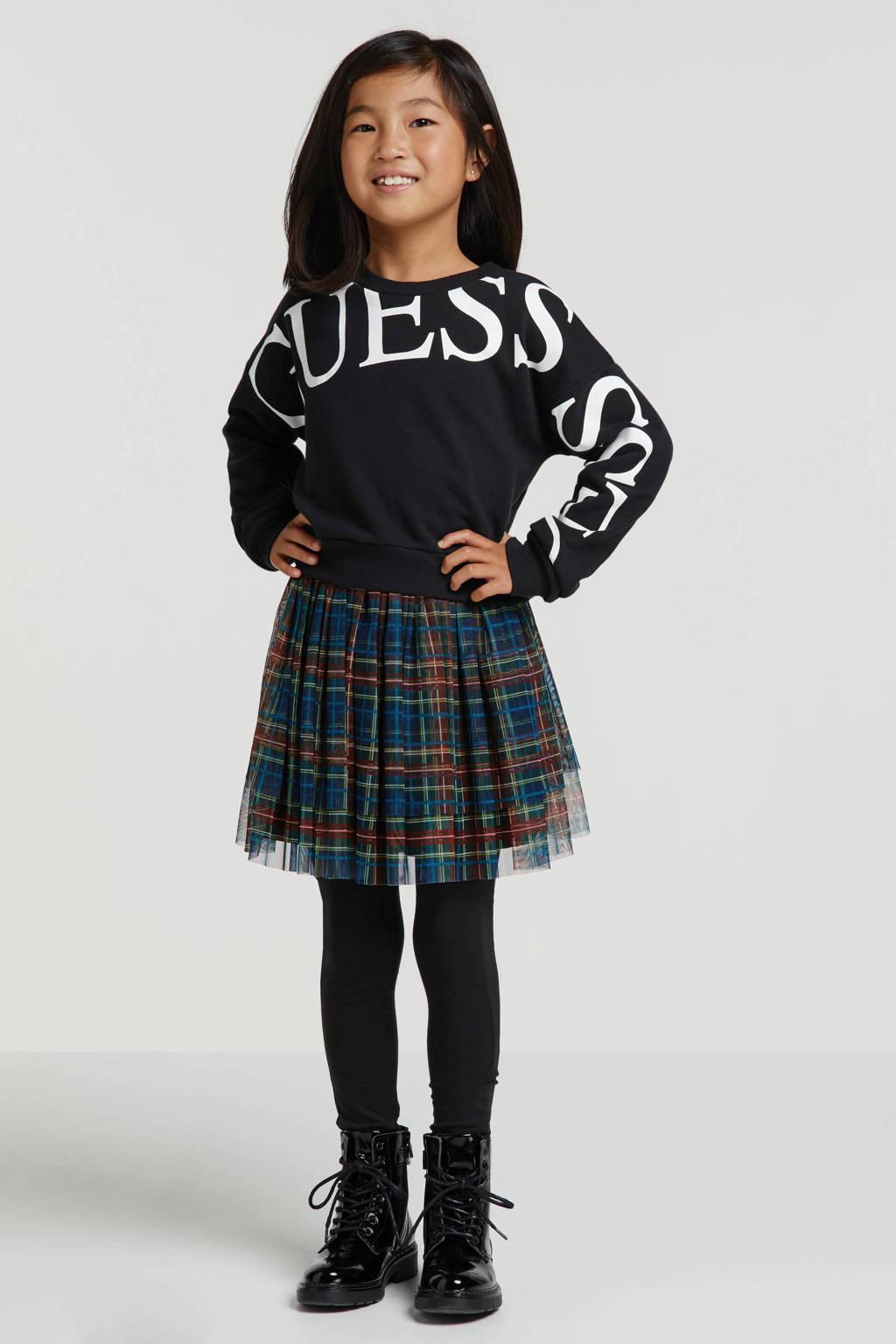 WE Fashion Fundamental legging zwart, Zwart
