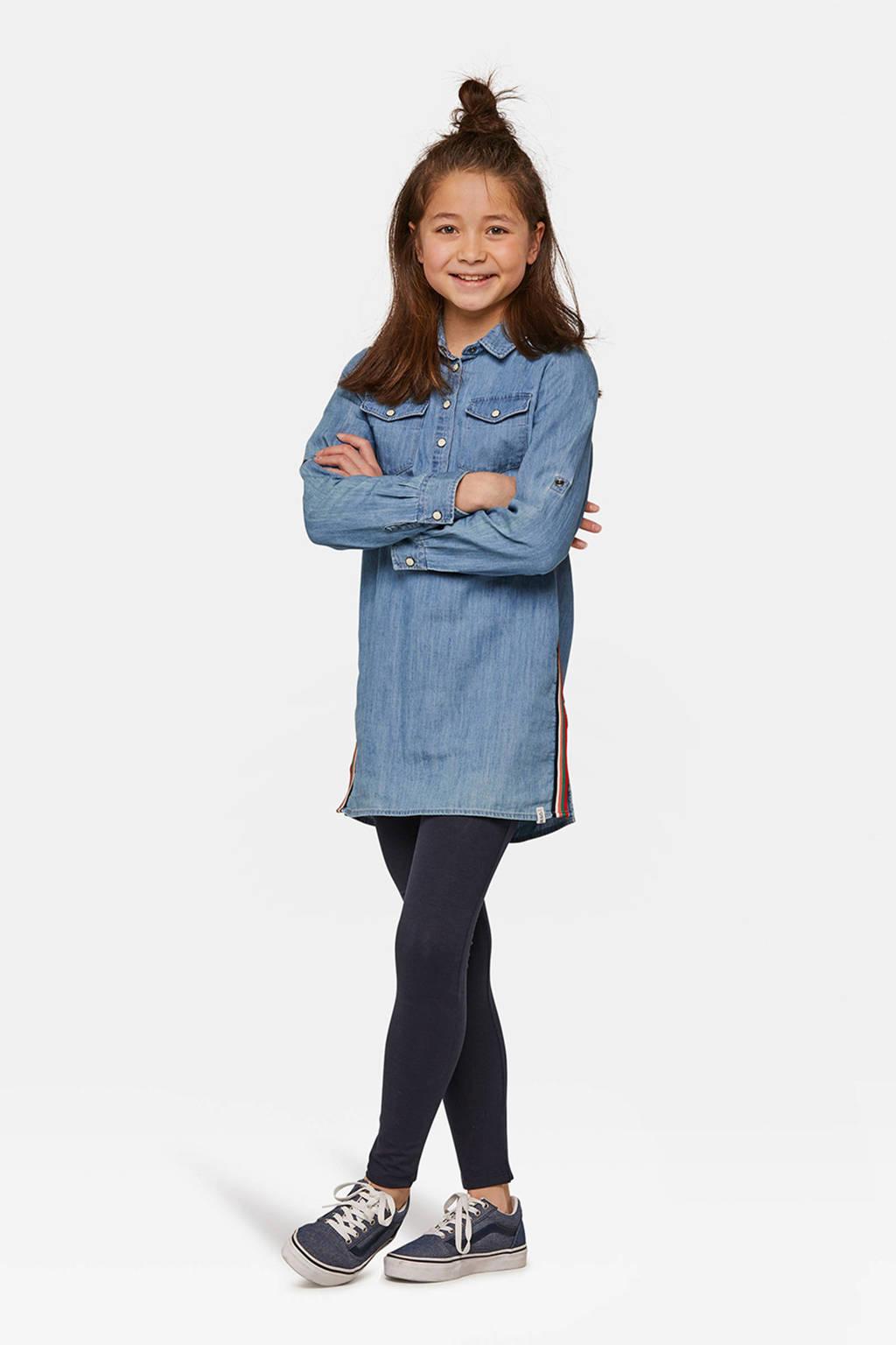 WE Fashion Fundamental legging donkerblauw, Donkerblauw