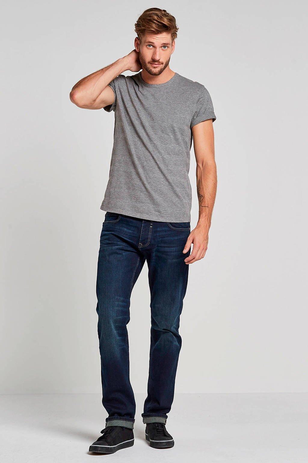ESPRIT Men Casual regular fit jeans, Dark denim