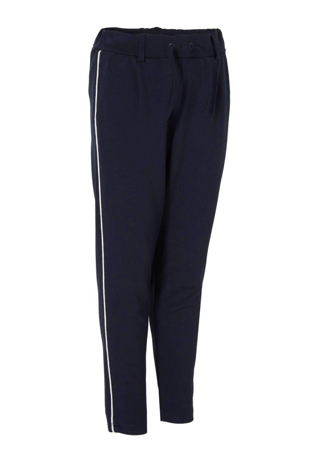 NAME IT KIDS loose fit sweatpants marine/wit, Marine/wit