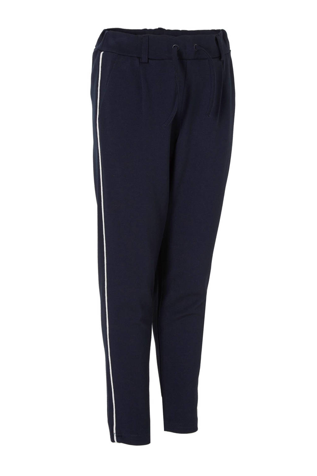 name it KIDS sweatpants Dalic met zijstreep marine, Marine