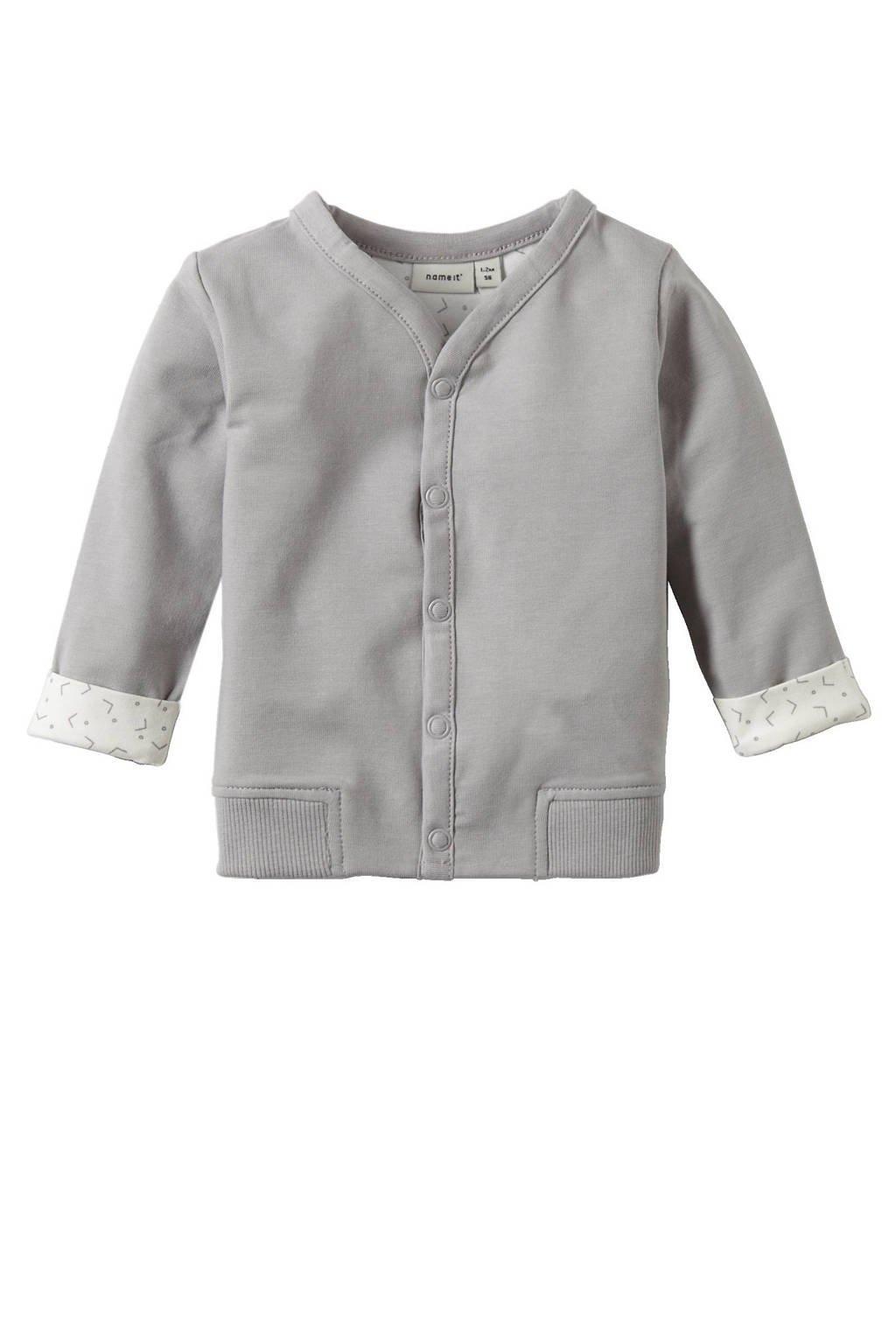 name it BABY newborn baby vest Delimo, Greige