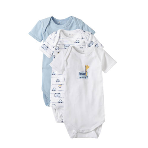 name it BABY newborn romper - set van 3 kopen