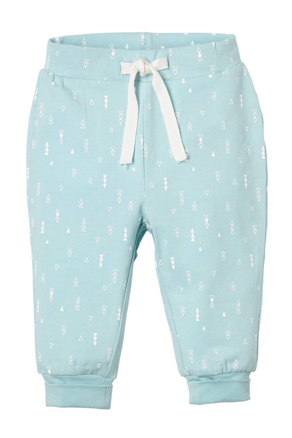 name it BABY newborn baby broek Delucious, Mintgroen/wit