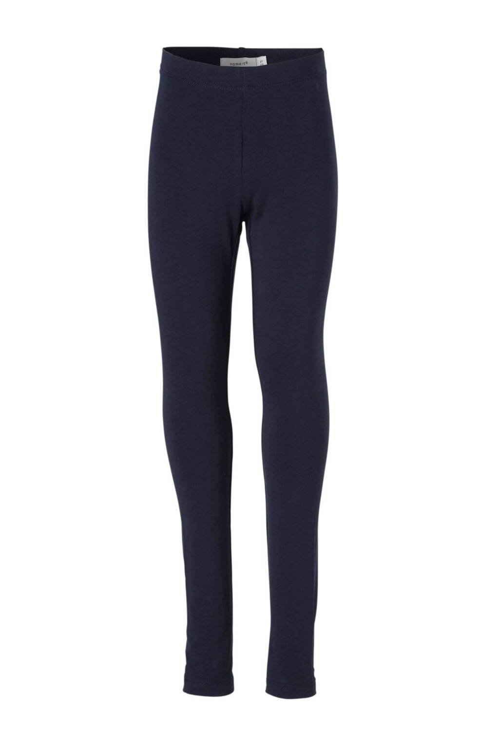 name it KIDS legging Vivian blauw, Donkerblauw