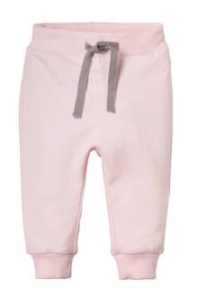BABY newborn sweatpants Delugo roze