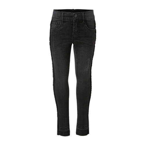 NAME IT KIDS skinny jeans Polly Taffy zwart