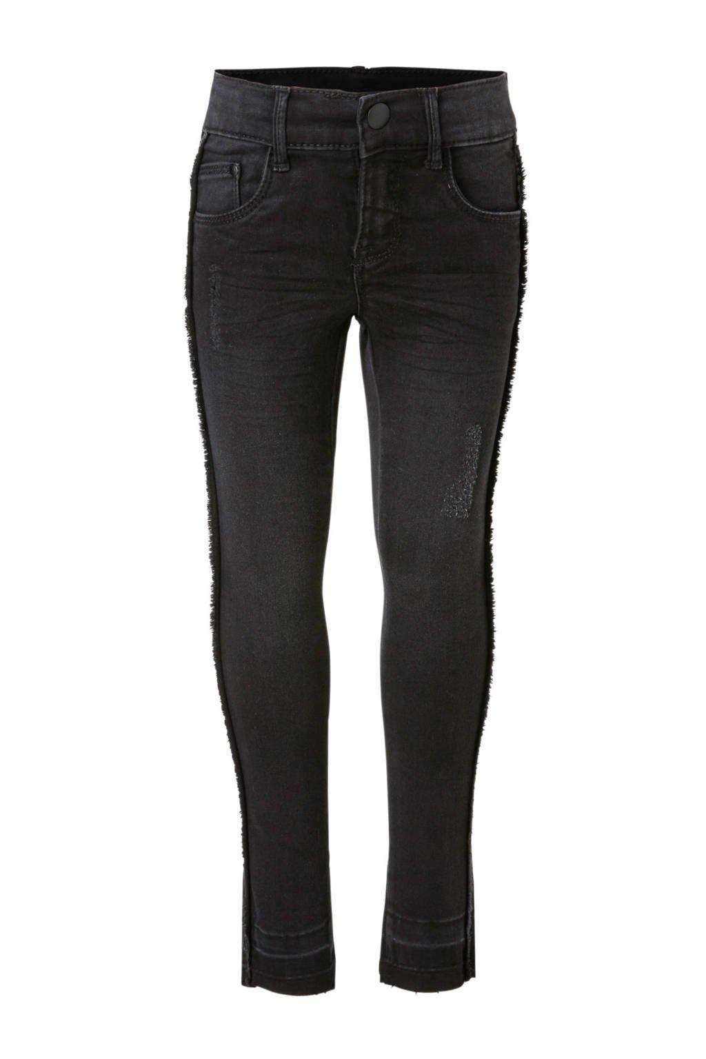 NAME IT KIDS skinny jeans Polly Taffy zwart, Zwart