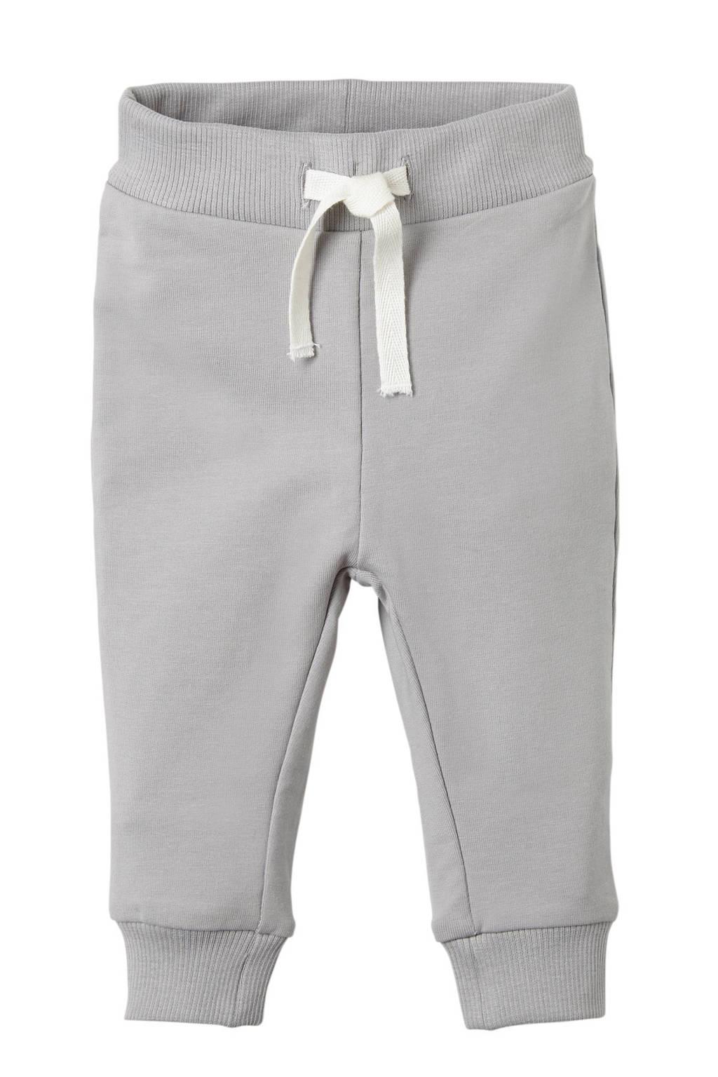 NAME IT BABY joggingbroek licht grijs, Licht grijs