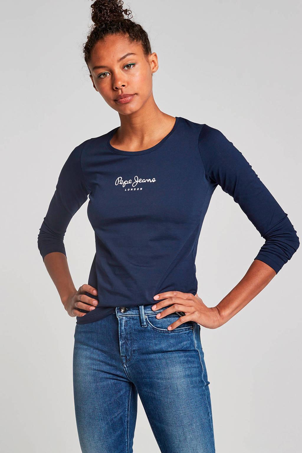 Pepe Jeans New virgina T-shirt, Blauw