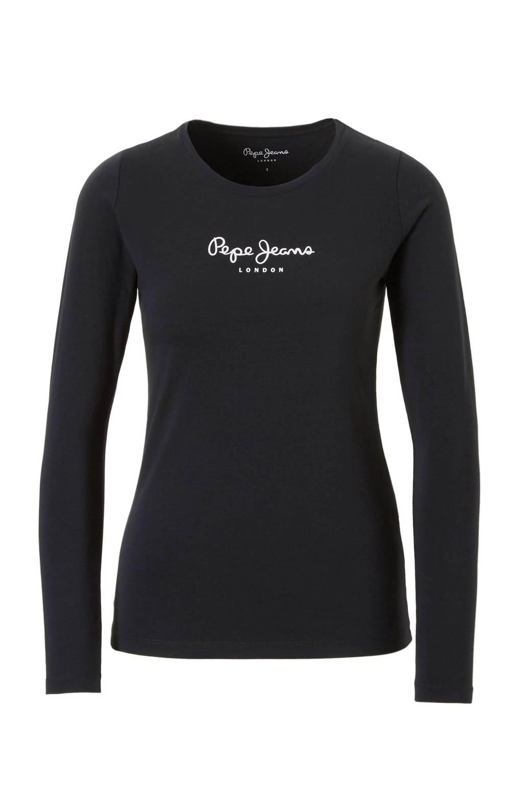 Pepe Jeans New virgina T-shirt, Zwart