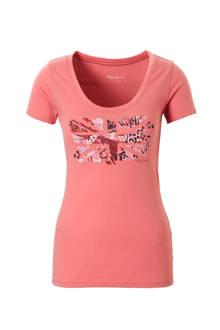 Cara T-shirt met printopdruk