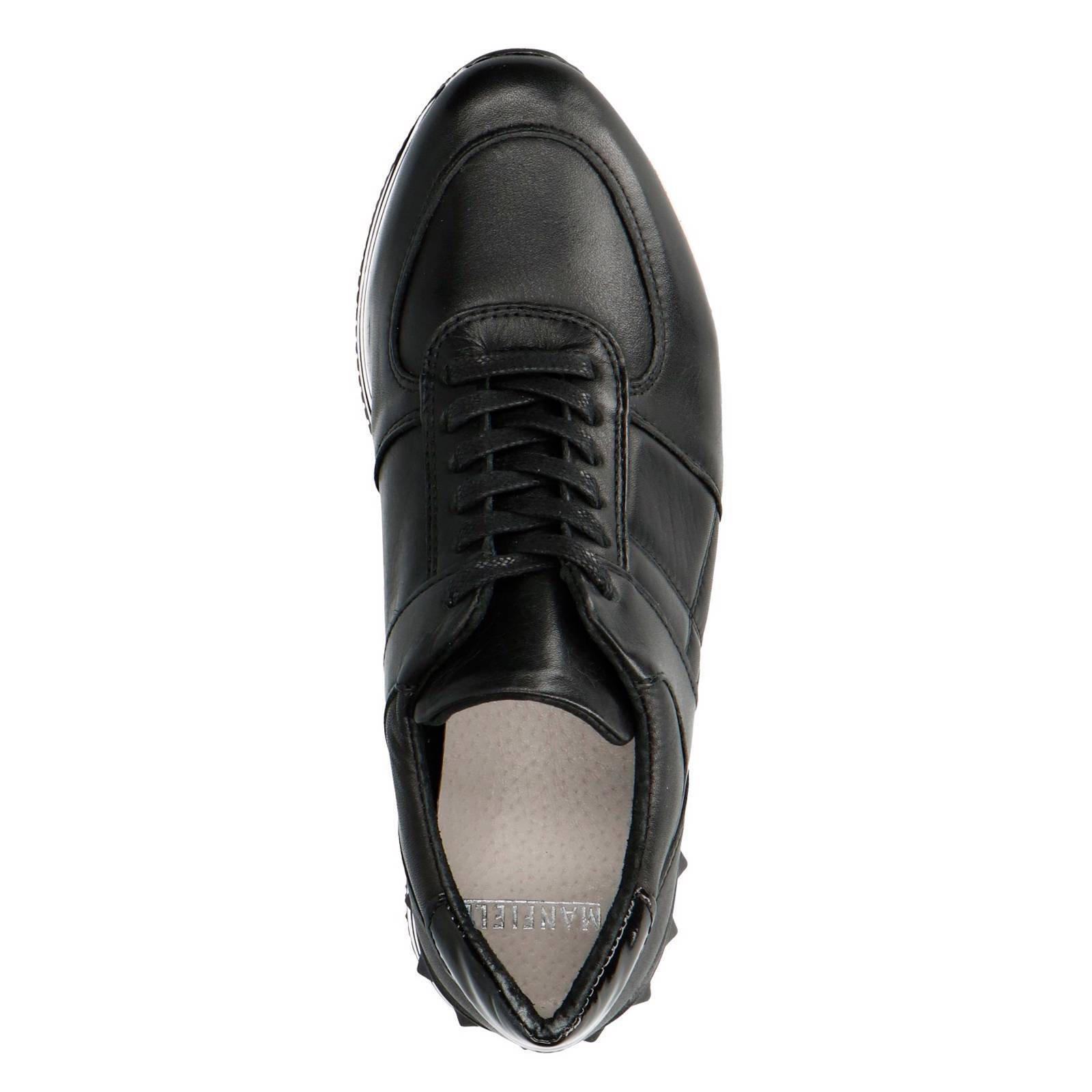 beste prijzen uitchecken goedkoop kopen leren sneakers zwart