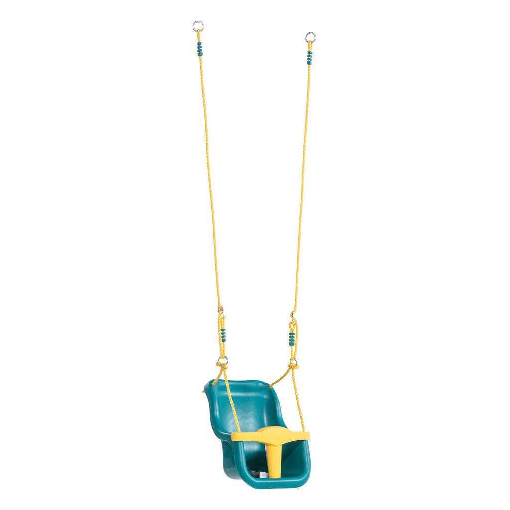 KBT Schommelzitje baby, Turquoise/geel